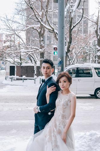 海外婚紗| 維恩 & 梅梅 | 北海道婚紗 | by 新秘橘子