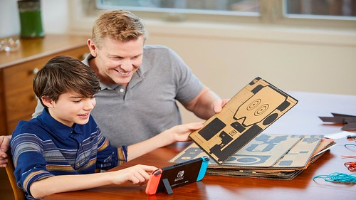 Nintendo Announces New Labo Line, Cardboard DIY Projects that work with Switch | by BagoGames