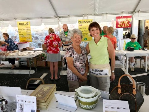 Ija & Marge at Yard Sale | by Holy Spirit Orthodox Church