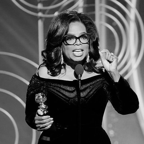 Oprah 's #goldenglobes speech is still giving me the chil… | Flickr