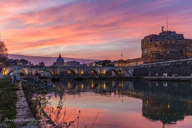 Sunset - Rome