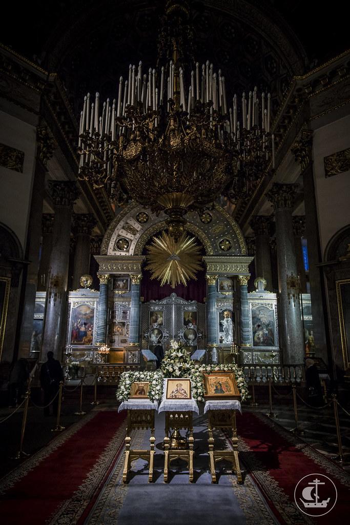 23 января 2018, Литургия в Казанском соборе / 23 January 2018, Divine Liturgy in the Kazan Cathedral