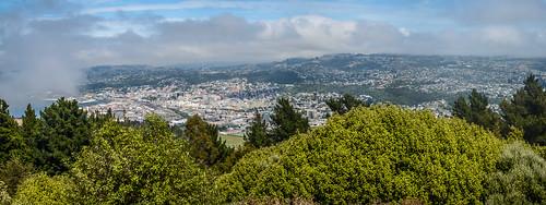 panorama newzealand hill sky blue view outdoor nature nikon d7100 clouds