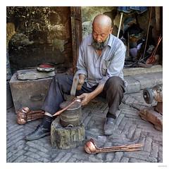Coppersmith Kashgar, China
