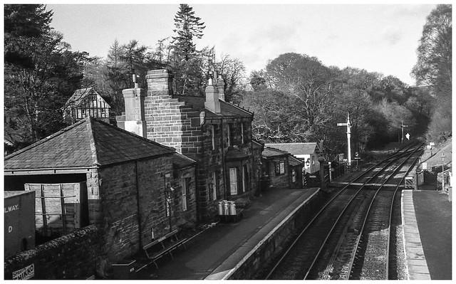 Goathland Station.