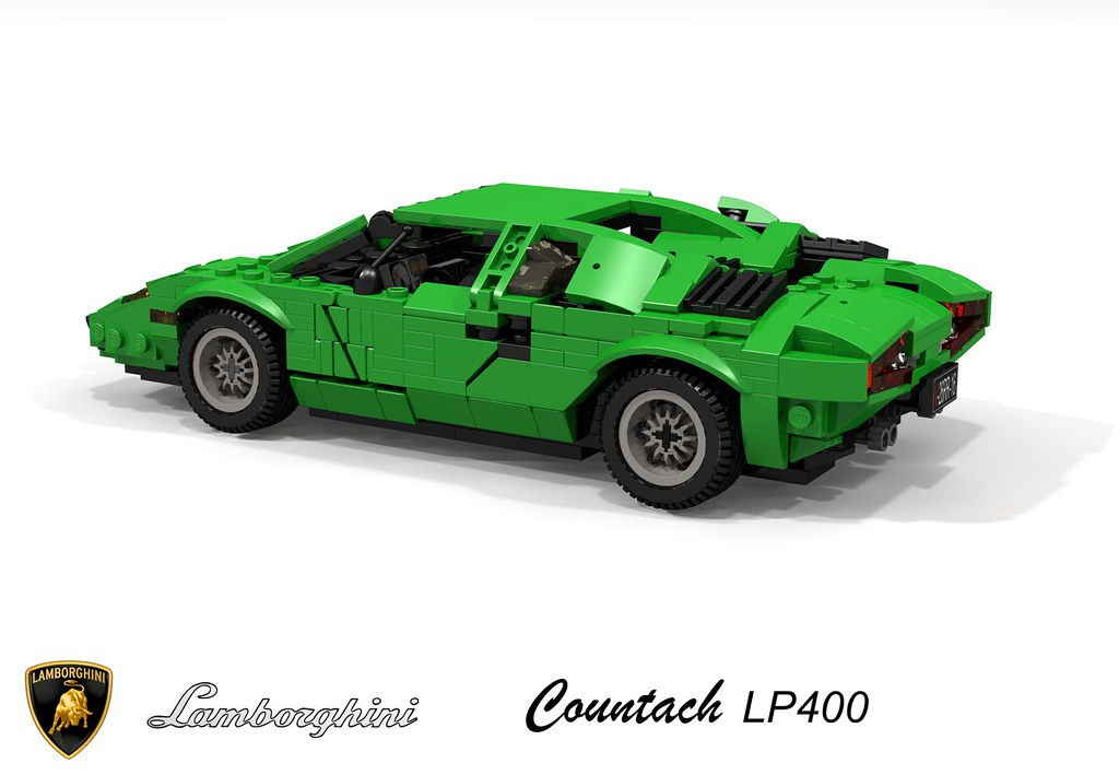 Lamborghini Countach Lp400 1974 The World Was Shocked By Flickr