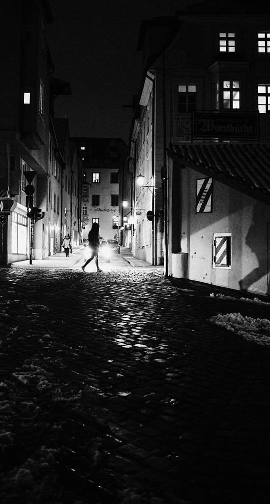 Hunting the shadow | shot in Regensburg with Sony RX1RII | Matthias