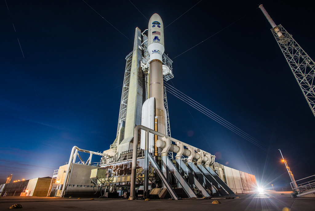 GOES-S on Launch Pad
