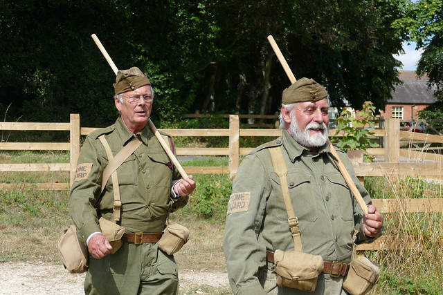 home guard marching