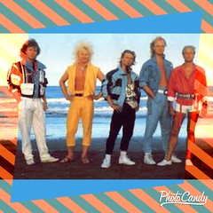 80s men?s big hair band Style Clothing and hair Advertisement