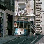 Europa, Portugal, Lisboa (Lissabon), Alfama, Calçada de Santo André Ecke Calçada da Graça