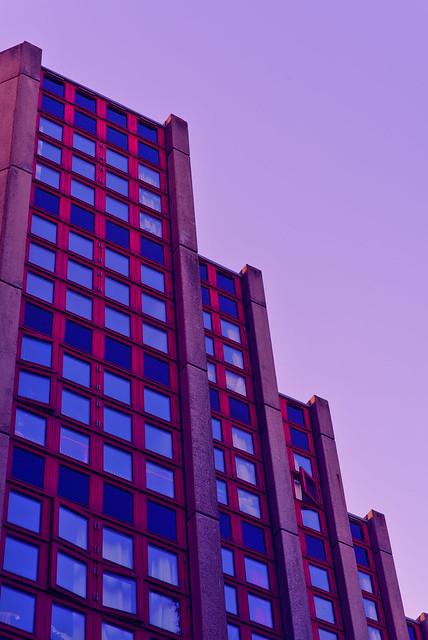 Purple sky over CPH