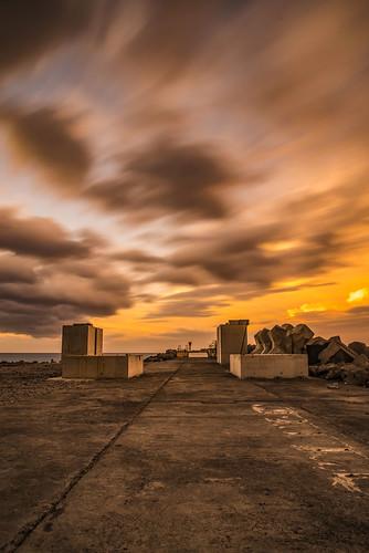 orange mécanique la réunion pentax k1 seascape landscape le port