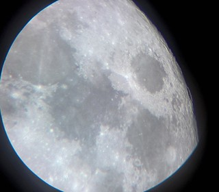 Supermoon Feb 1st 2018, libration revealing Neper crater and its neighborhoods