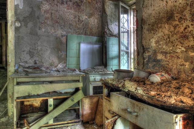 La cuisine au plâtre