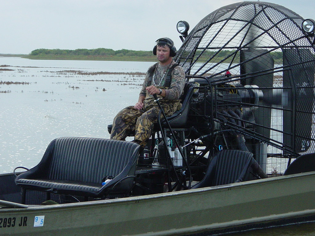 Brad Smythe and the Airboat