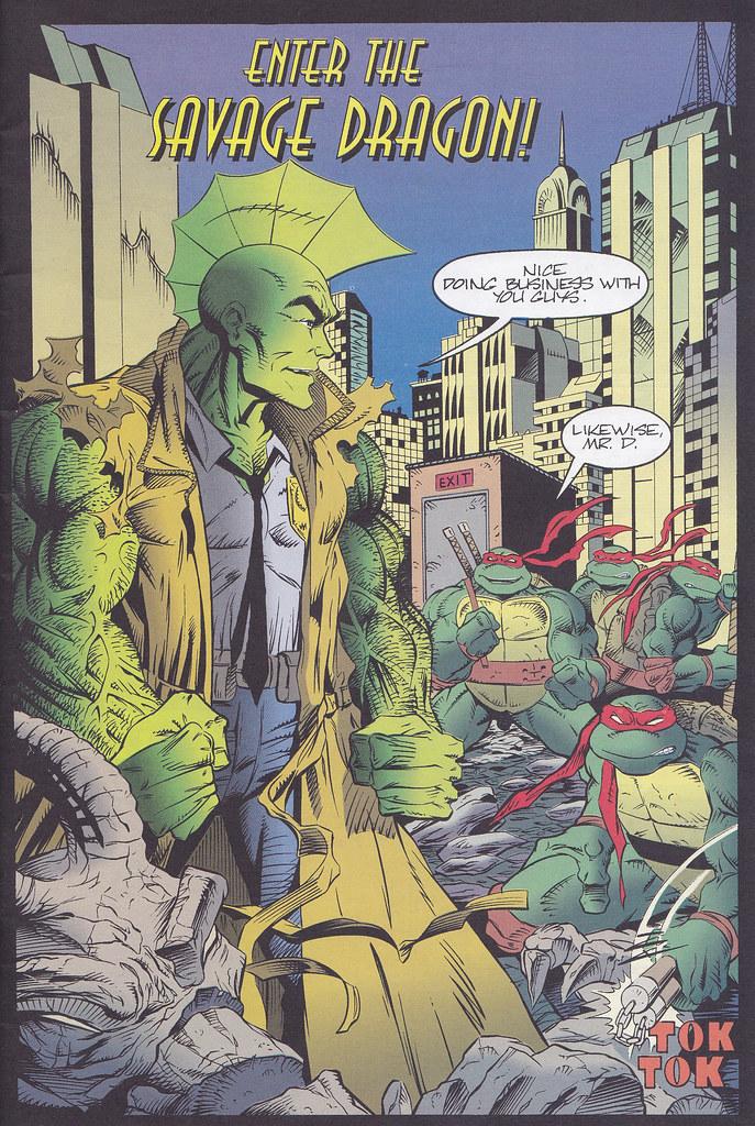 Teenage Mutant Ninja Turtles USA Savage Dragon # 1