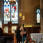 Tue, 20/02/2018 - 1:52pm - The trio of Sara Watkins, Sarah Jarosz and Aoife O'Donovan play for WFUV listeners at the Fordham University Church in NYC, 2/20/18. Hosted by John Platt. Photo by Gus Philippas/WFUV