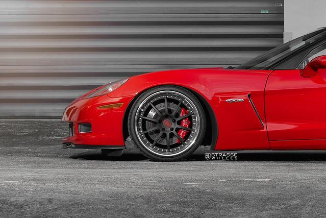 Strasse Wheels Corvette Z06