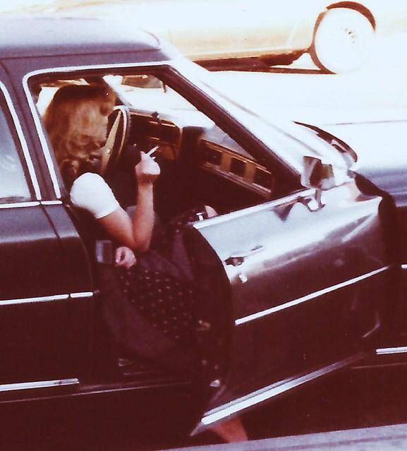 Classy Cadillac Lady, circa 1976