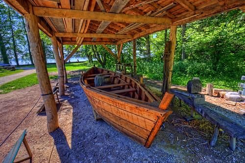 Mount Vernon: Batteau boat | by cmfgu
