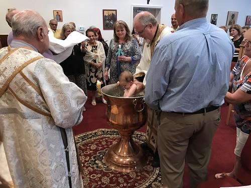 Roman baptized   by Holy Spirit Orthodox Church