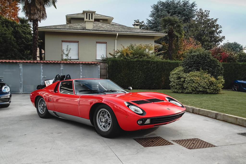 Old School Lamborghini Miura Facebook Page Youtube Channel Flickr