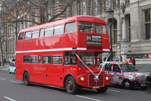 RED ROUTEMATER RML2683 SMK683F SOUTH KENSINGTON 130118