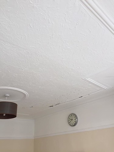plastercore.co.uk Ceiling Before | by PlastercoreUK