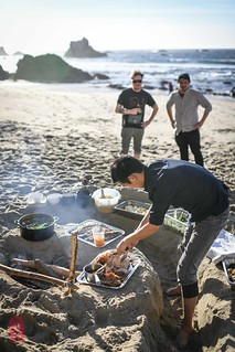 Picnic on the beach. | by ulterior epicure