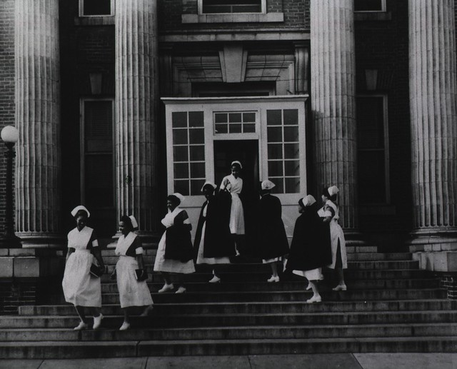 Nurses at Freedmen's Hospital