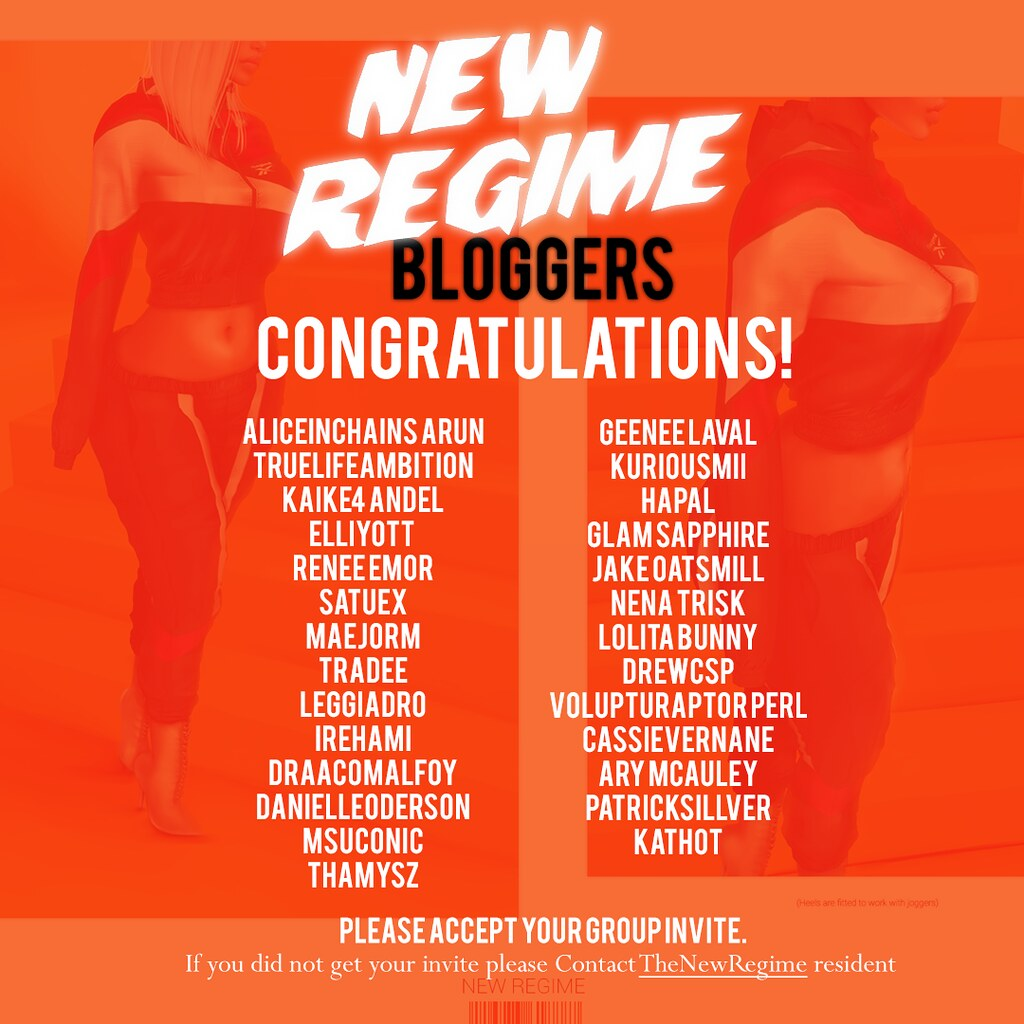 New Regime Bloggers  | Tag your self <3 Congrats dolls! look
