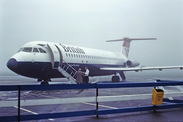 G-BGKF BAC1-11 British Airways CVT 02-11-82