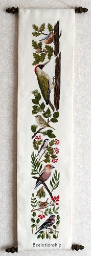 43.-1. Birds in Autumn Tapestry | by Beelationship Embroidery Studio