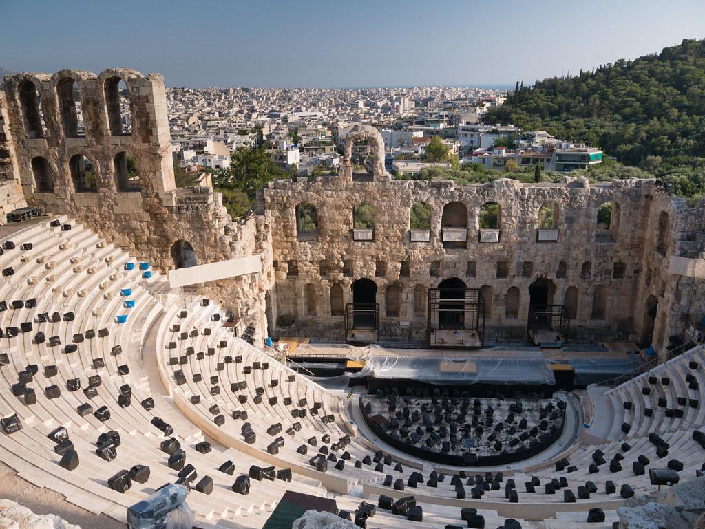 Odeon of Herodes Atticus   Odeon of Herodes Atticus Het Odei…   Flickr