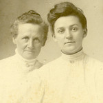 Mother Adeline Smith Wilgus - daughter Grace Lemley