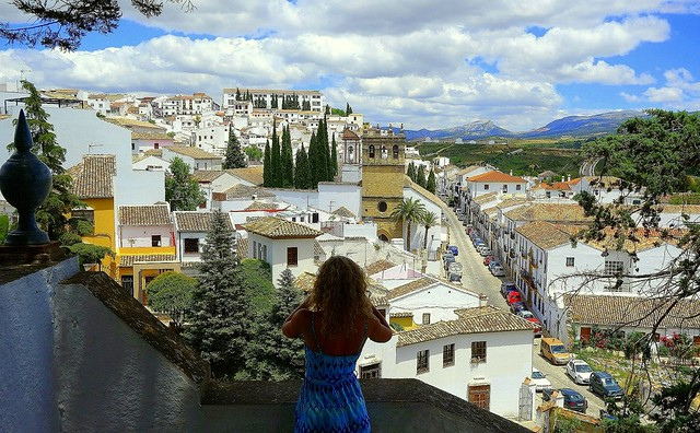 and one shot of a beautiful Ronda
