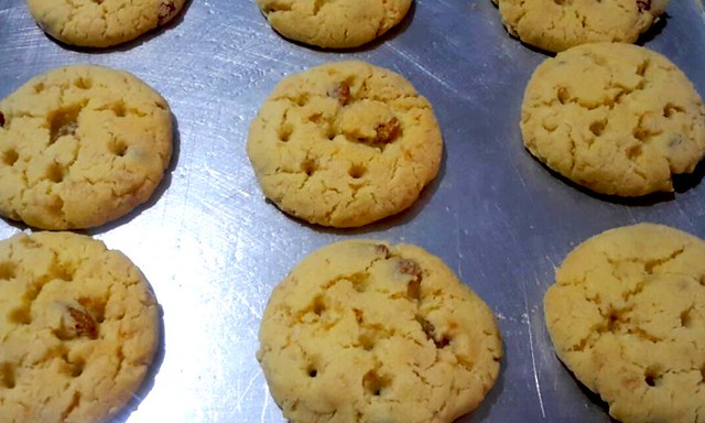 chewy oatmeal raisins cookie recipe