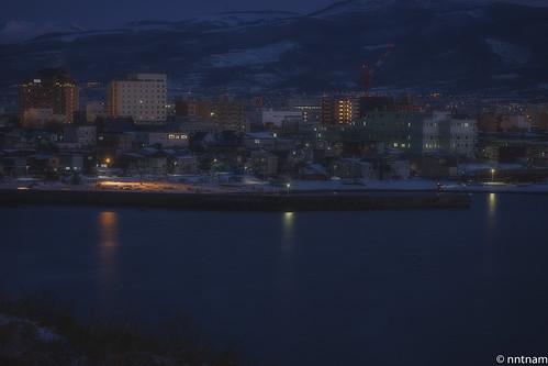 bluehour sunrise hakodatehakodateshihokkaidōjapanjp