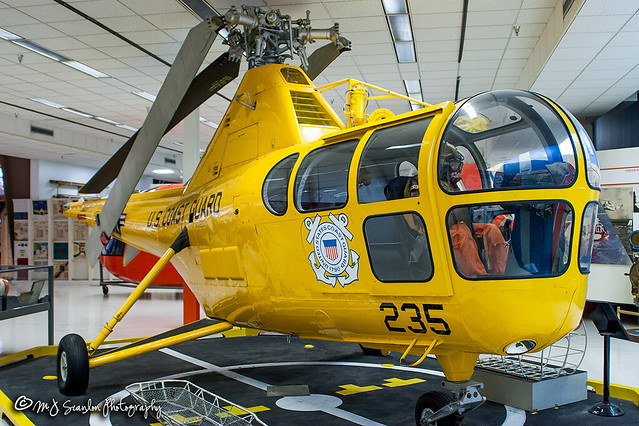 235 USCG | Sikorsky HO3S-1G Dragonfly | National Naval Aviation Museum