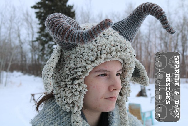 HAT Krampus flecked c