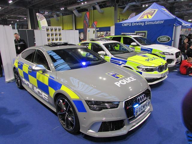 West Midlands Police Audi RS7 (OY67 JDZ)