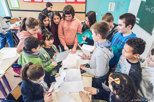 Résidence en milieu scolaire - Rêveries Augmentées