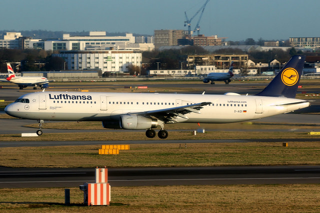 Lufthansa | Airbus A321-200 | D-AIDI | London Heathrow