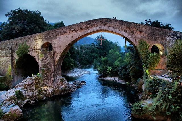 Puente Romano, Cangas de Onís. Asturias.