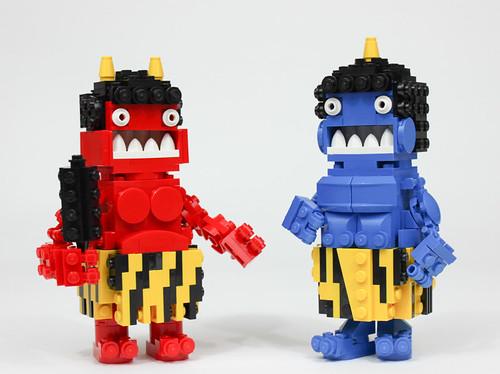 Jigoku no oni   by Gzu's Bricks