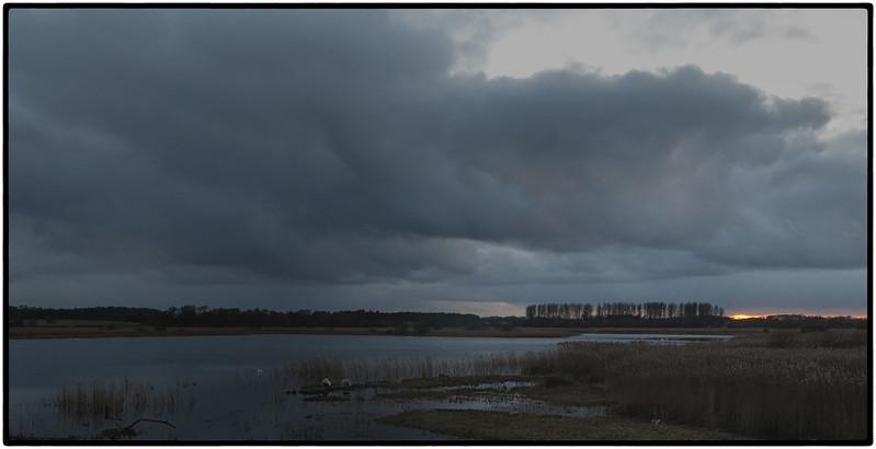 Suffolk sun set