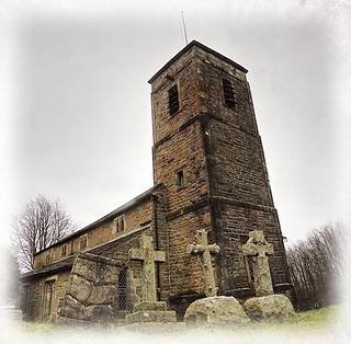 A view of church in Gressingham