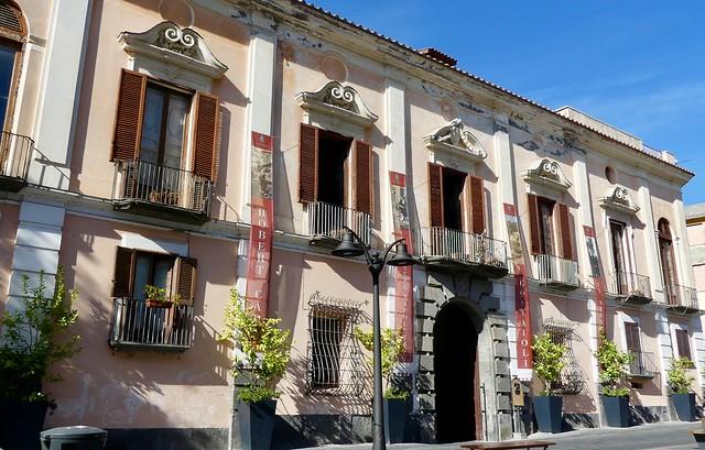 Italie, Maiori, Palazzo Mezzacapo sur le Corso Reginna