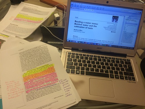 Citation tracing forward and backward and reading analog and digital